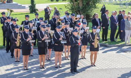 Odsłonięcie pomnika Ofiar Obławy Augustowskiej w Sokółce z udziałem naszej Orkiestry