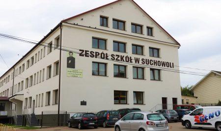 Termomodernizacja budynku Zespołu Szkół w Suchowoli zakończona.