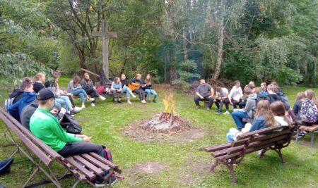 Spotkanie integracyjne uczniów klas pierwszych